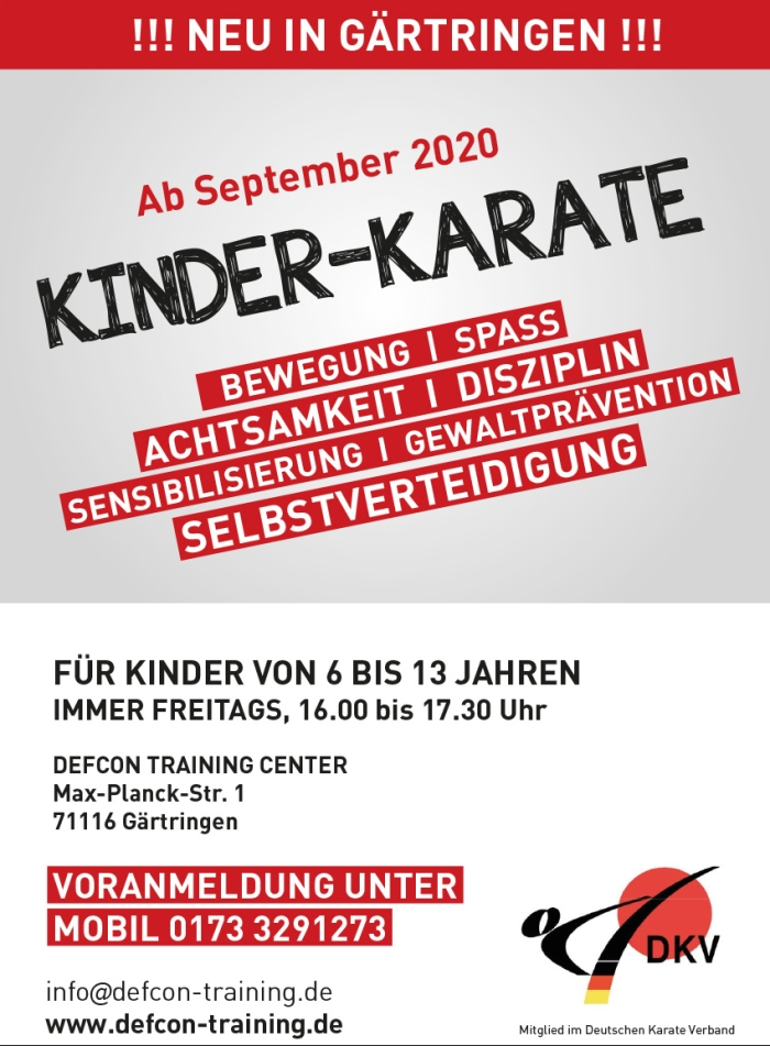 Plakat_KINDERKARATE_Gärtringen.indd